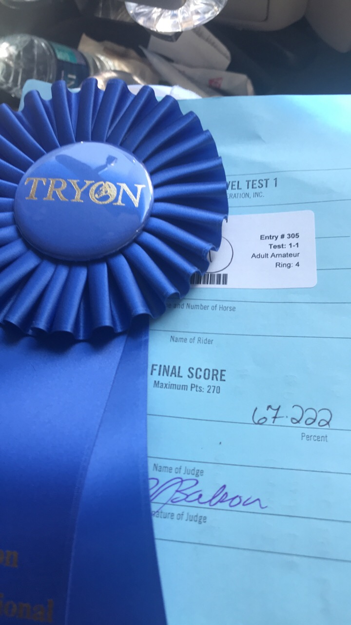 JJ Test 1 1 at Tryon